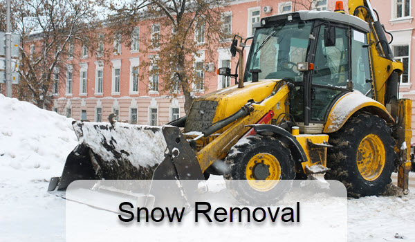Snow removal commercial